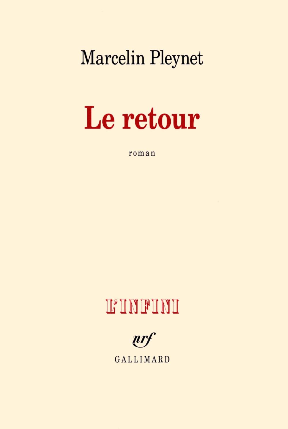 couverture Marcelin Pleynet Le retour