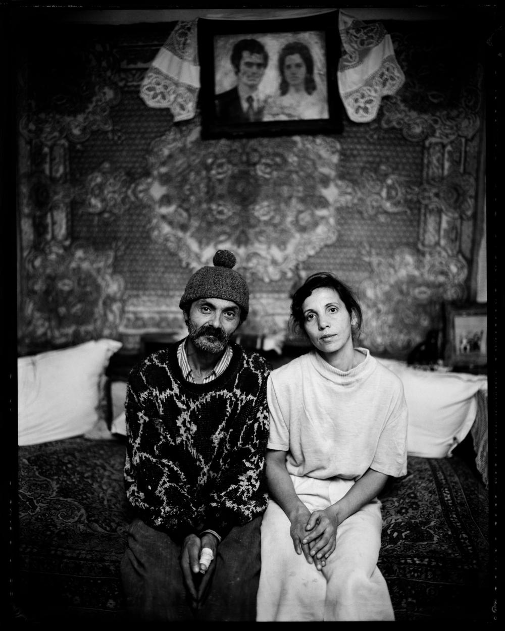Carol Czanca, 43 ans et Katalin Otvos, 41 ans.Cluj-Napoca, Roumanie 1998.