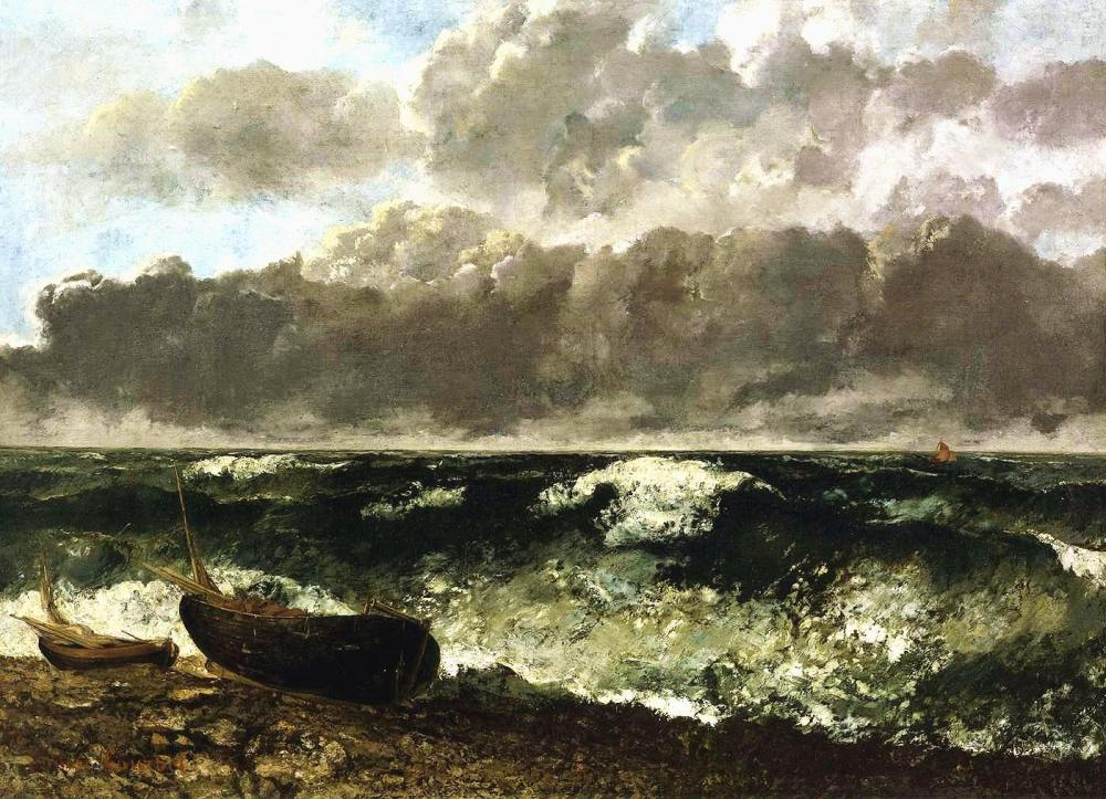 courbet-la-vague