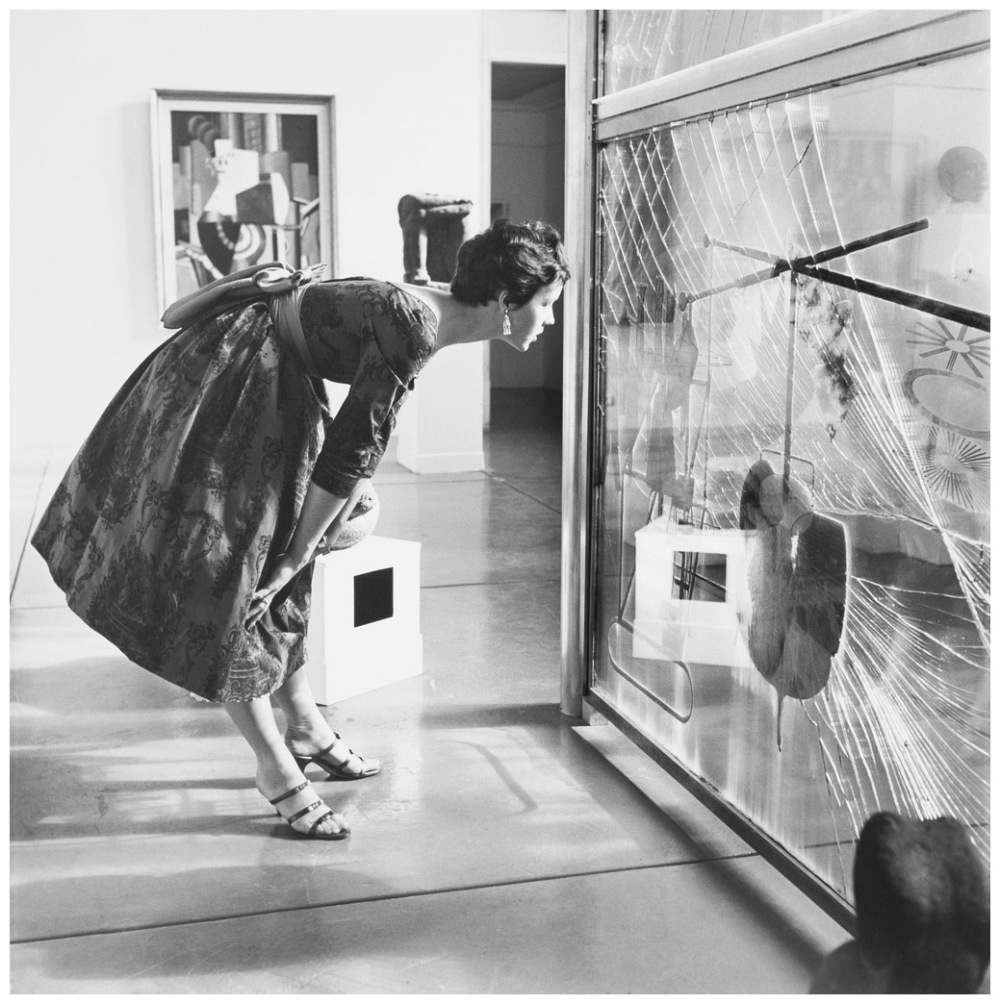 11-Installation view, Philadelphia Museum of Art, 1954, photo by Hermann Landshoff