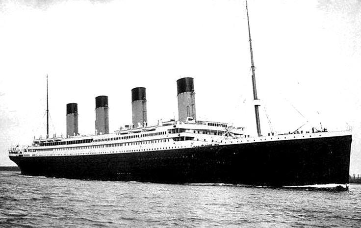 Le paquebot Titanic