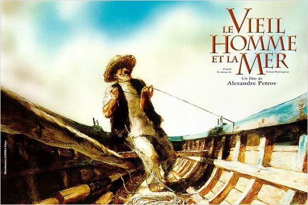 Hemingway - Le vieil homme et la-mer(film d'aniamtion)