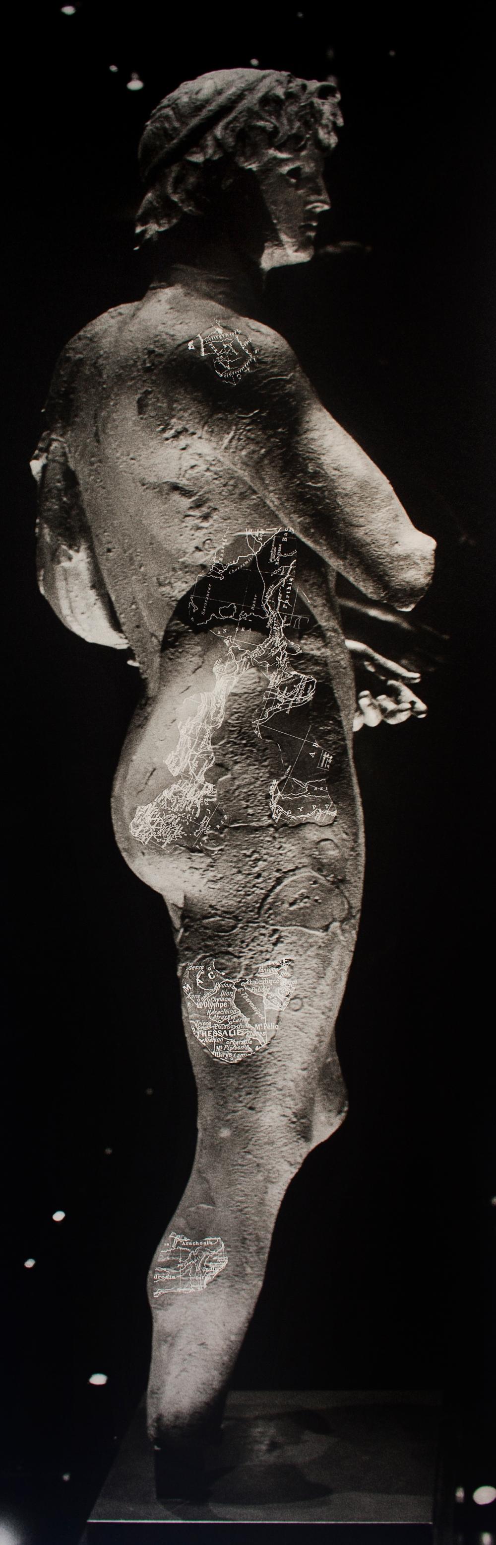 Sans-titre-140x45cm-photographie argentique sur papier barythé collé sur dibond-production Musée de l'Éphebe d'Agde