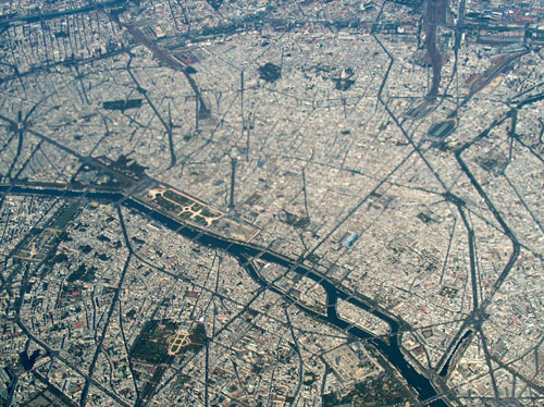 France vue du ciel - Paris 2