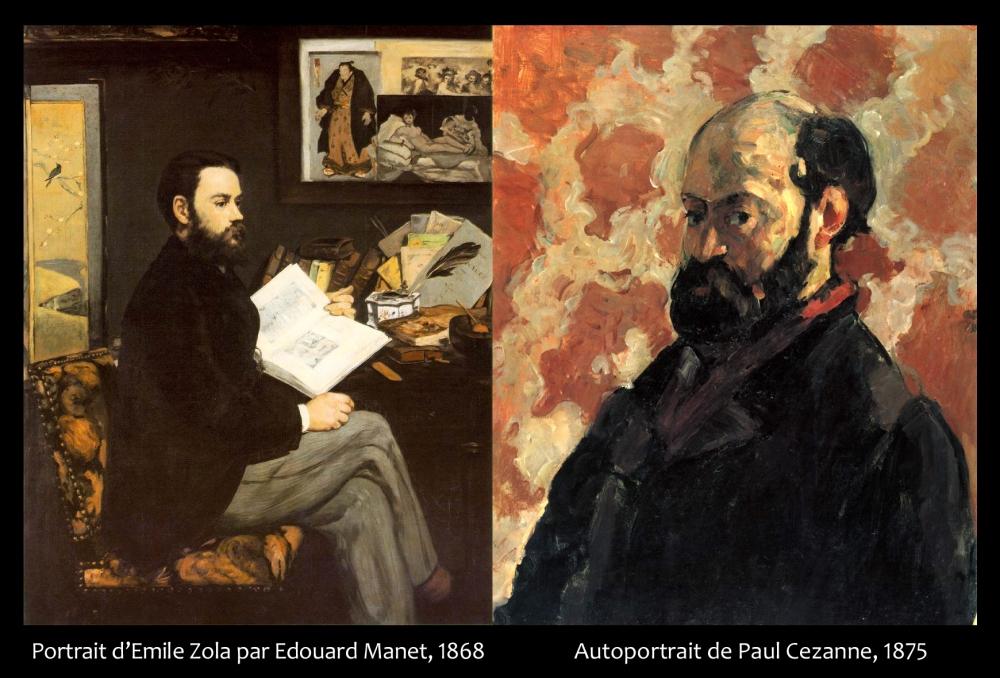 Zola-Cézanne