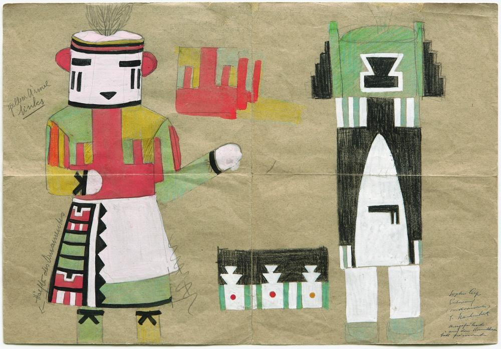 03. Taeuber-arp_projet-costume-kachina