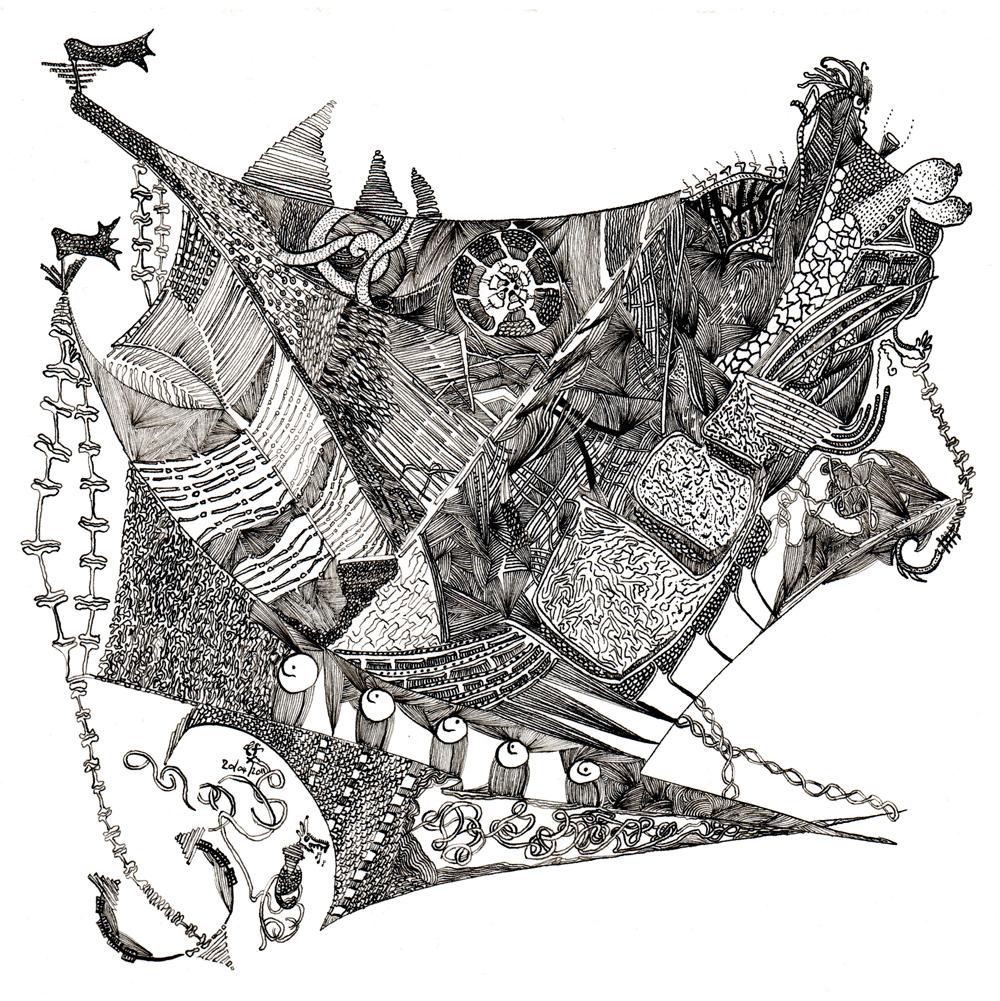 5 Poisson-Navire (Tryptique des Abysses),Tristan Felix