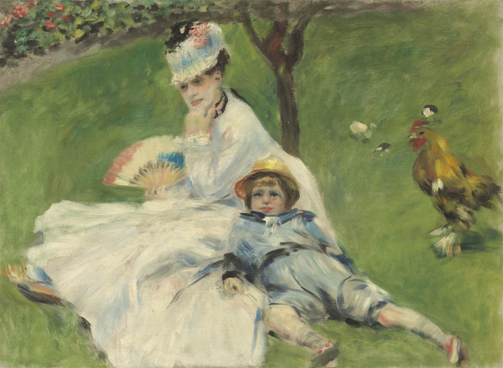 Madame-Monet-et-son-fils-Jean-1874