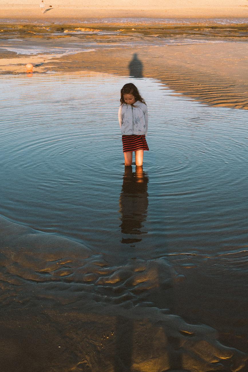VACANCES EN FAMILLE A L OCEAN - MONTALIVET (33) -  JUILLET 2016
