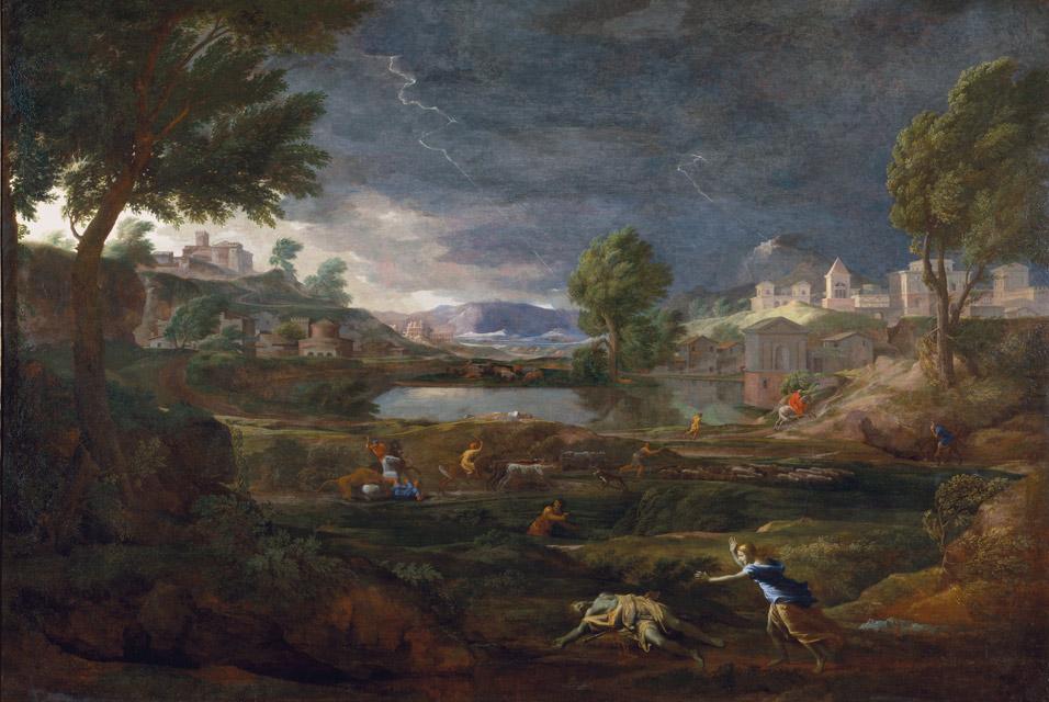 Nicolas_Poussin_-_Paysage_orageux_avec_Pyrame_et_Thisbé