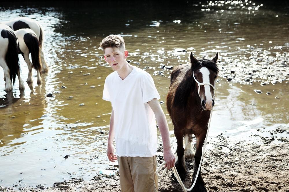 Jimmy Lava Il Cavallo dopo la gara