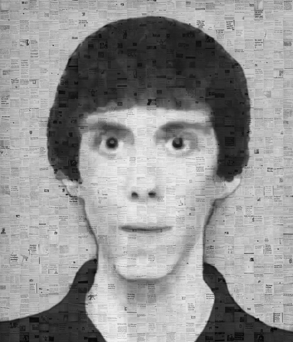 News portrait # 5 (school shooter Lanza, USA)