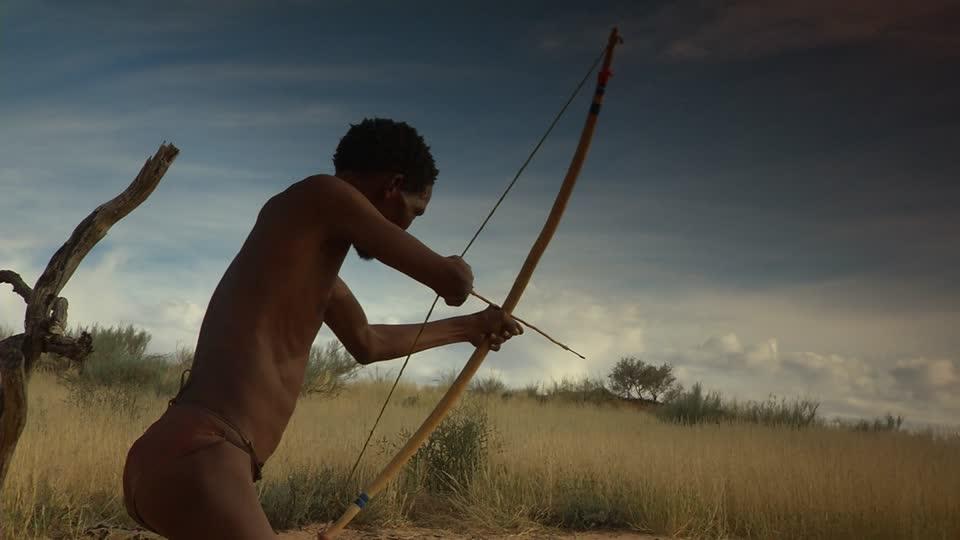 824920963-bushmanland-afrique-du-sud-tir-a-l'arc-arc-arme-chasseur-etre-humain