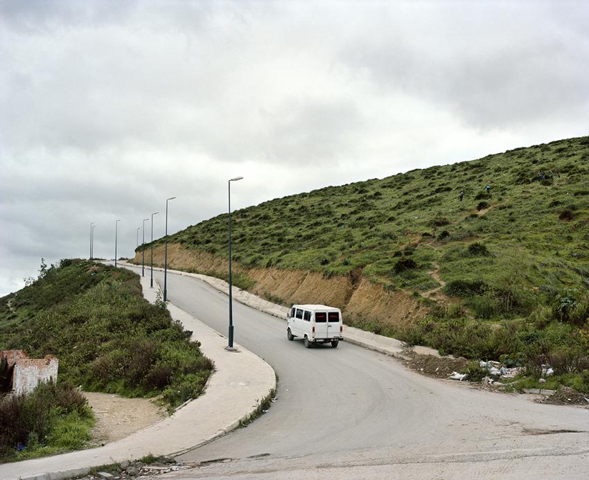 Tanger. Maroc. 2013La colline de Charf