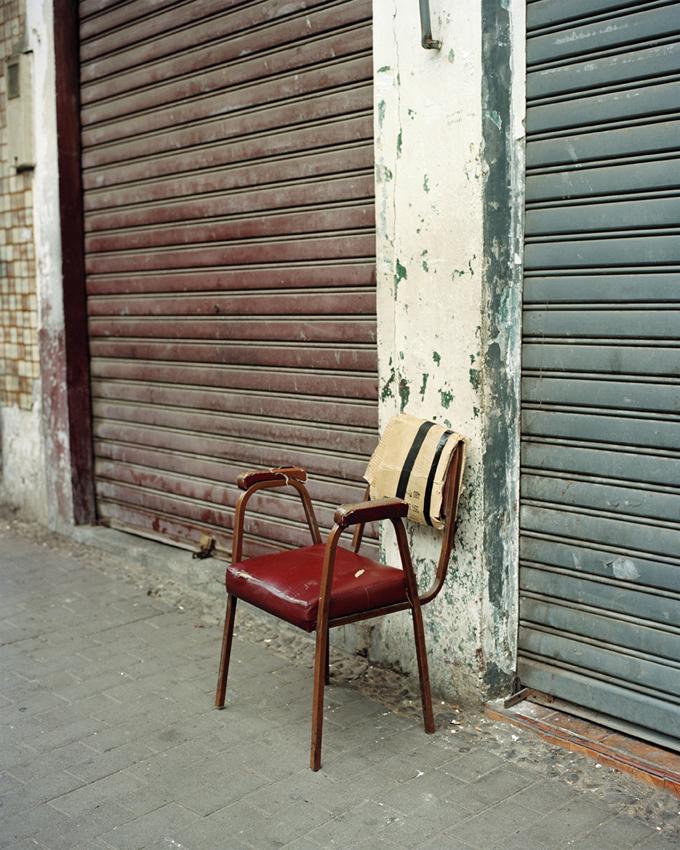 Tanger, Maroc. 2015. Rue d'Italie