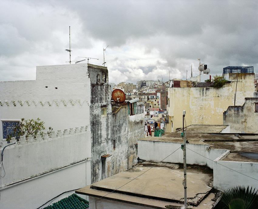 Tanger, Maroc. 2013. Vue du Café Baba