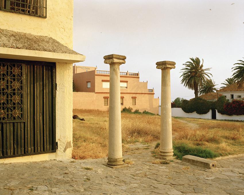 Tanger, Maroc. 2015Le lieu dit des tombeaux féniciens
