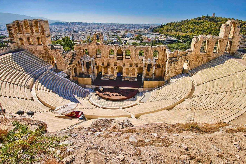 r_201507_01_AY Antikes Theater unterhalb der Akropolis Athen SH_117320689 Athen