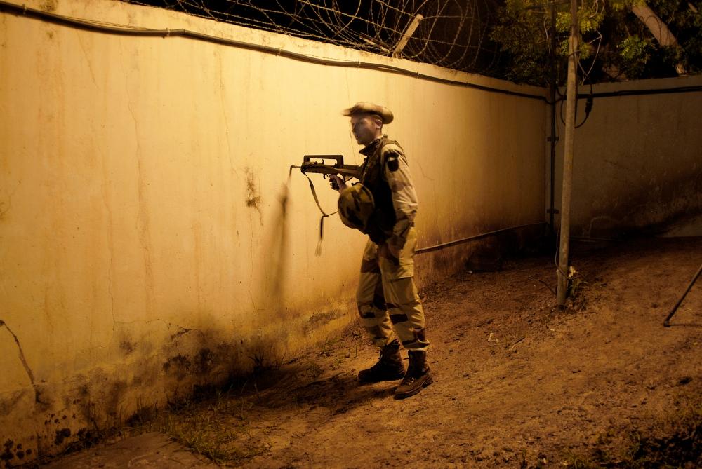 Le théâtre des opérations - Tchad
