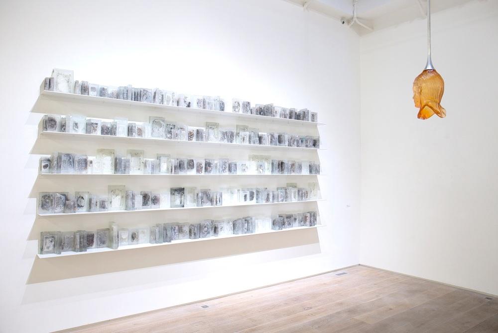 Pascal Convert, Vue d'exposition, 2016, © galerie Eric Dupont, Paris