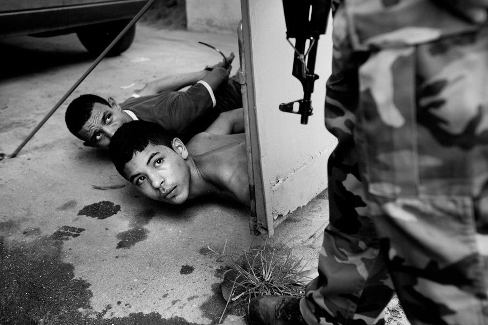 Violence in Rio de Janeiro.