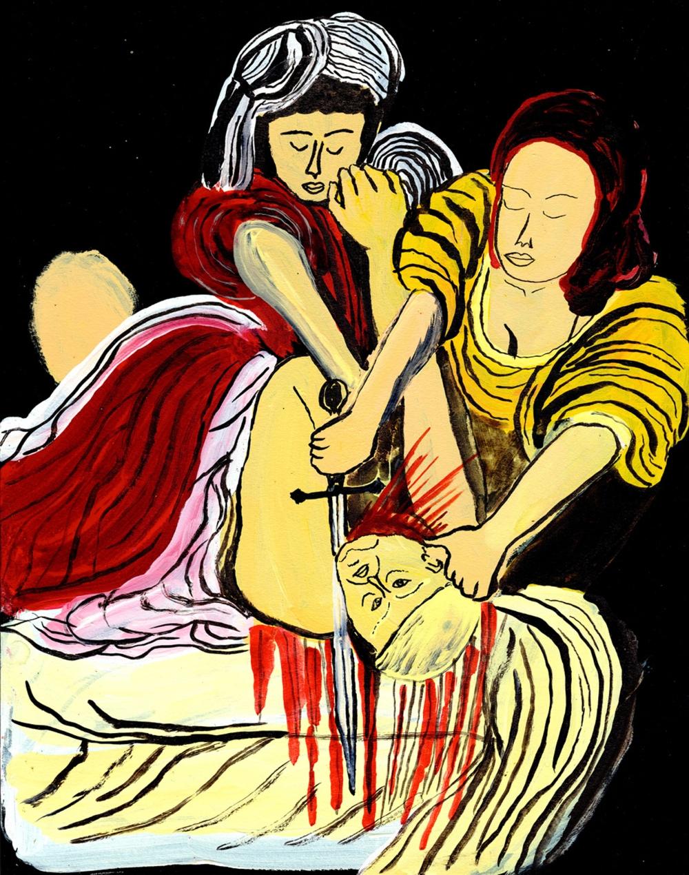 Arrington-de-Dionyso-Judith-beheads-Holofernes