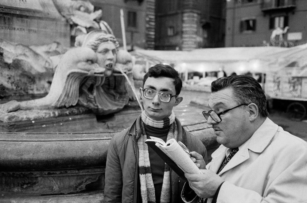 Rome. Piazza della Rotonda. 1980.