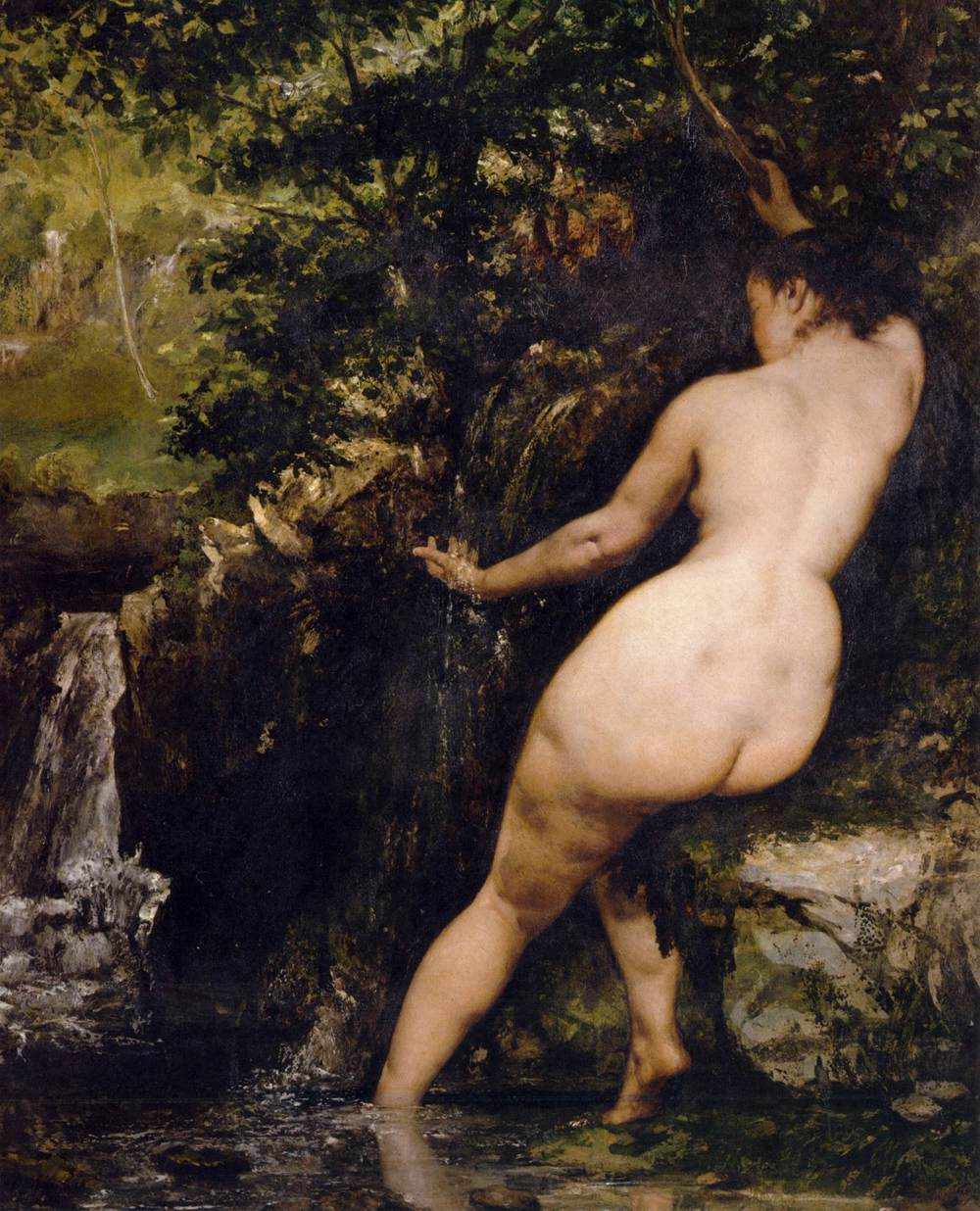 Gustave_Courbet_-_The_Source_-_WGA05506
