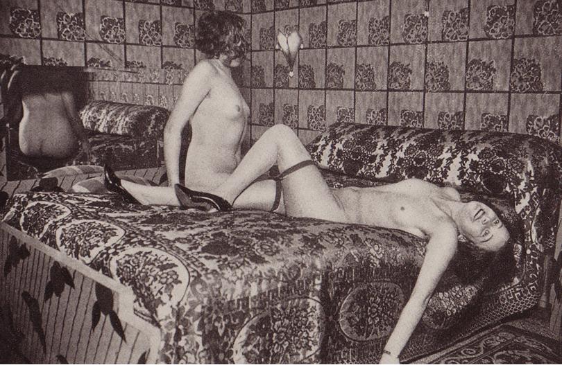 Chez Madame Petit en 1933, photo de Josep M. Sagarra