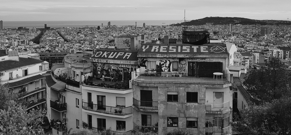 Vue de Barcelone, ©Mathieu David