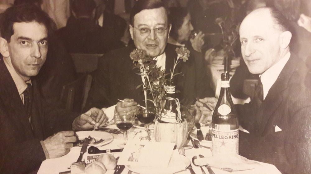 Frénaud De.s Forêts et Georges-Emmanuel Clancier vers 1960