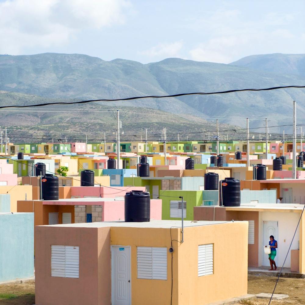 REPORTAGE SUR LA RECONSTRUCTION D'HAITI, 4 ANS APRES LE SEISME DU 12 JANVIER 2010.