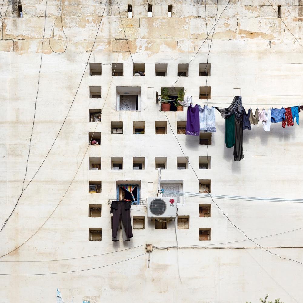 """Alger - Cité """"Climat de France"""" - F05-02 -2013Edition de 5 100 x 100 cm"""