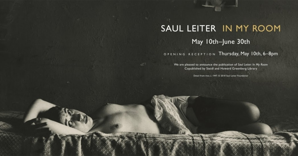 saul leiter in my room greenberg