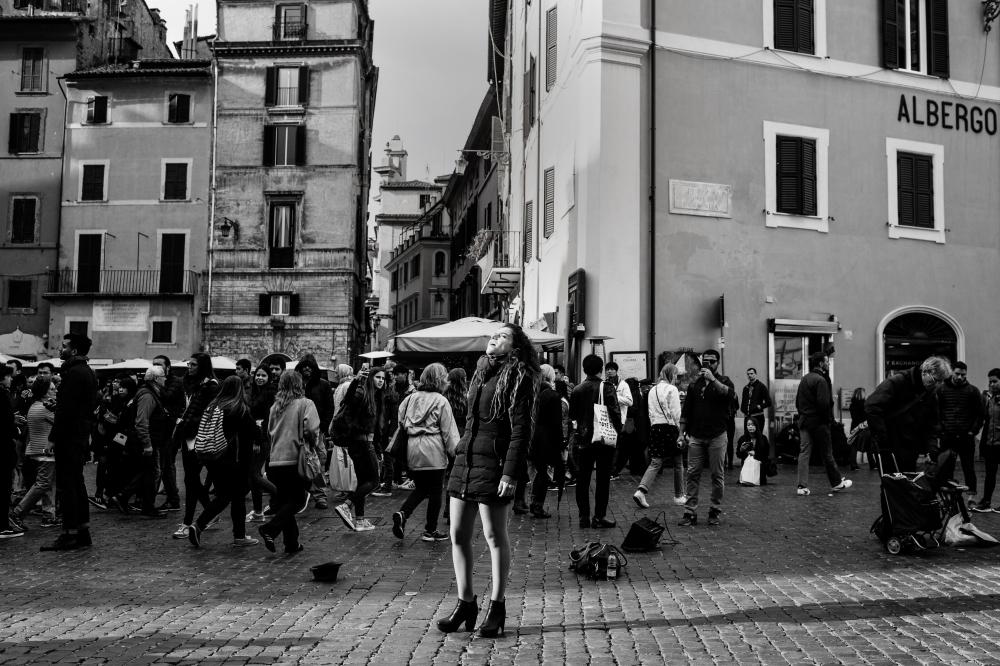Pantheon, Piazza della Rotonda. Rome, Italie. Le 26/03/2018