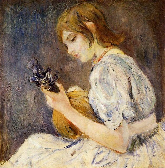 berthe-morisot-la-mandoline-reproduction-grands-maitres-peinture-sur-toile-galerie-art-artiste-peintre-copiste-professionnel-qualite-tabl