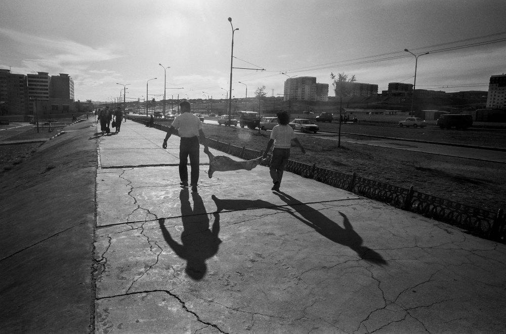 Mongolie, Oulan Bator, 1994 photo Ch Goussard (3 sur 17)