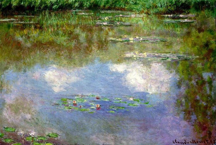 ClaudeMonet-WaterLilies(TheClouds)(1903)