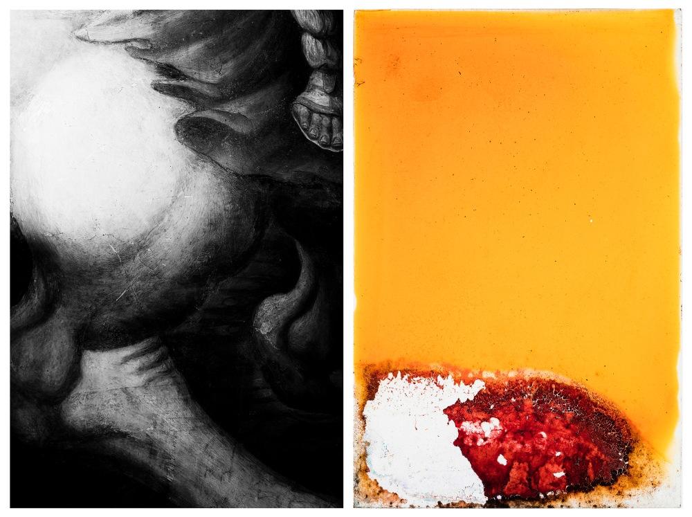 Roma_diptico_23_caballo y placa naranja