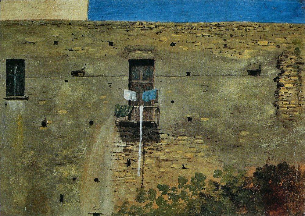 Thomas_Jones_-_Mur_à_Naples