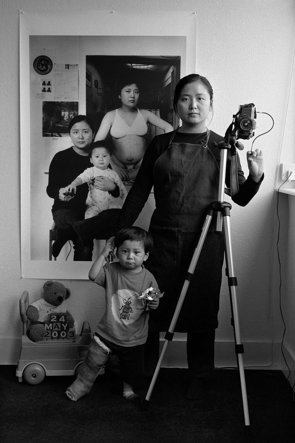 ©Annie Hsiao-Ching Wang, The Mother as a Creator, 2001 - 2018