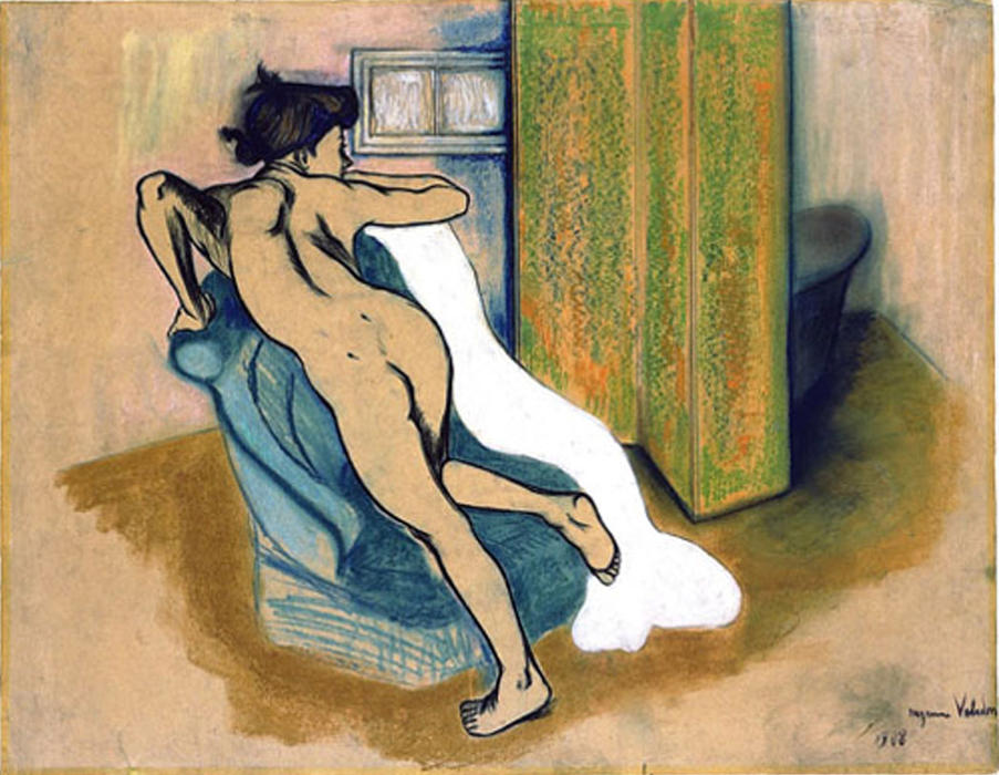 Suzanne-Valadon-After-the-bath