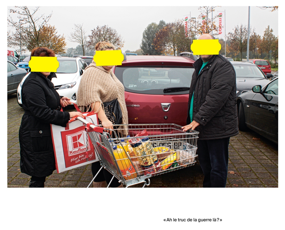 Djelissa Latini ÔÇô Mardi 11 novembre 2014, 11 h, sur le parking dÔÇÖun supermarche╠ü a╠Ç Kehl