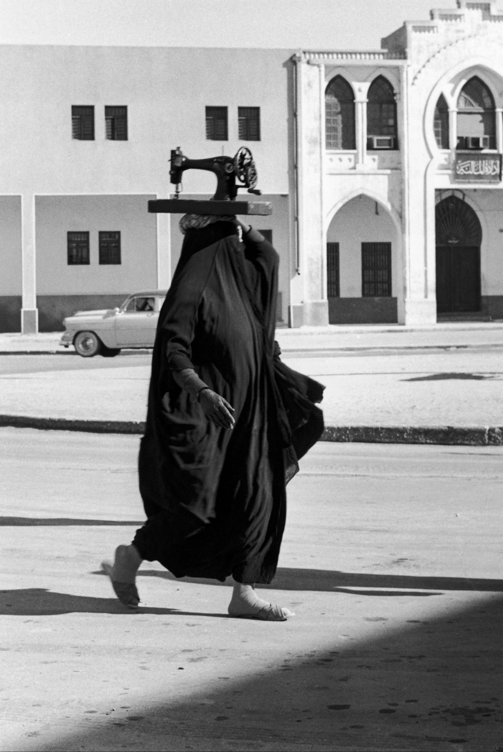 Koweït : la machine à coudre
