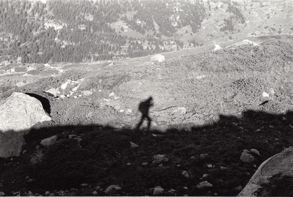 Autoportrait Alpes 2006