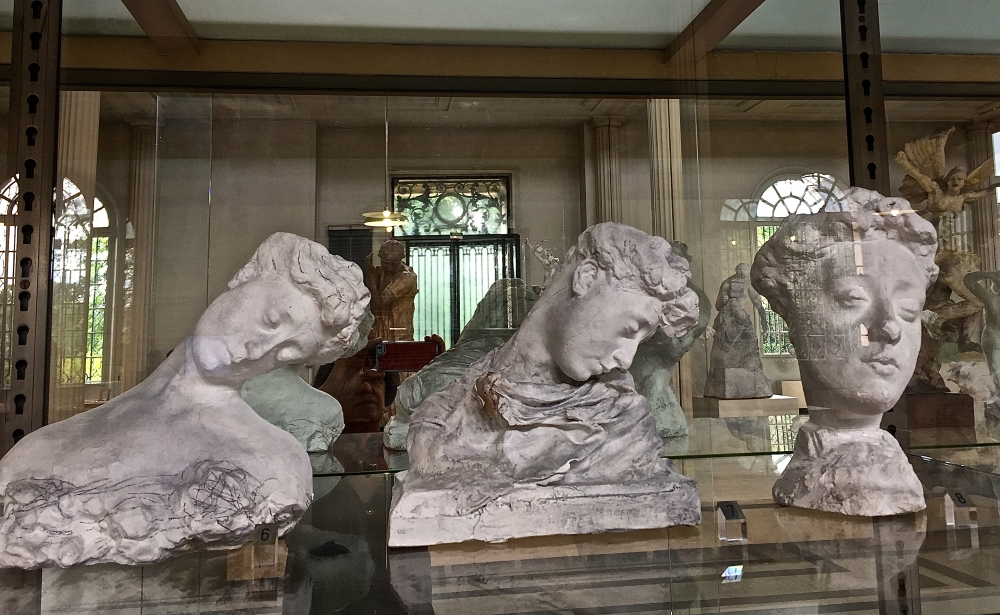 salle des plâtres,musée Rodin, Meudon 2019