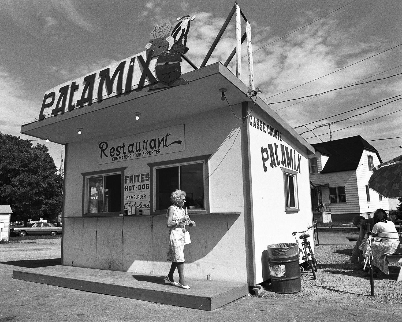 """""""Patamix"""", route 138, Sainte-Anne-de-la-Pérade, Province du Qu"""
