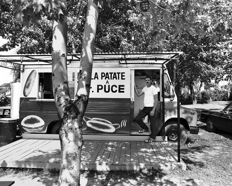 """""""La patate à M. Puce"""", route 137, La Présentation, Province du"""