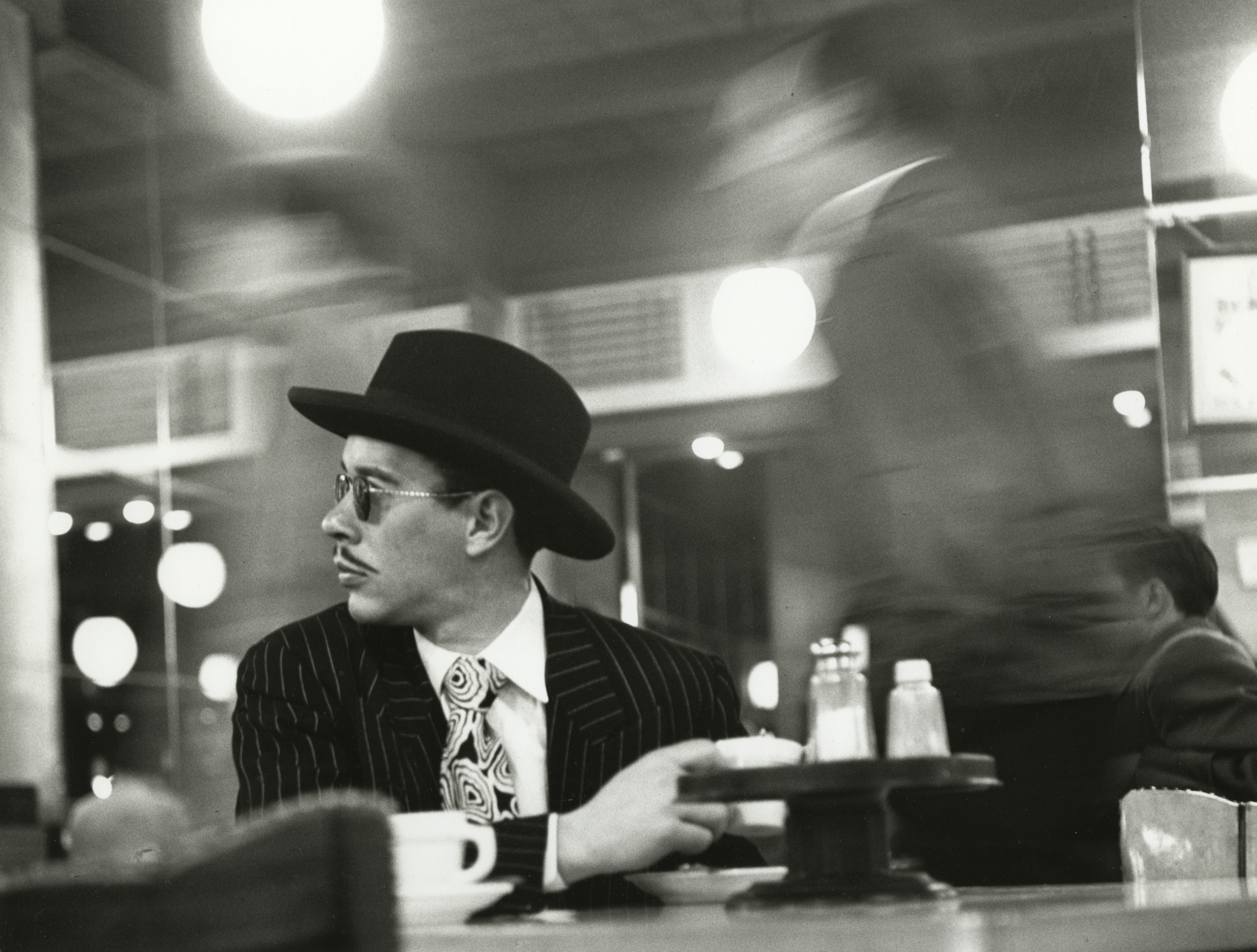 4-Ted Croner _Sharpie in a Cafeteria, 1946