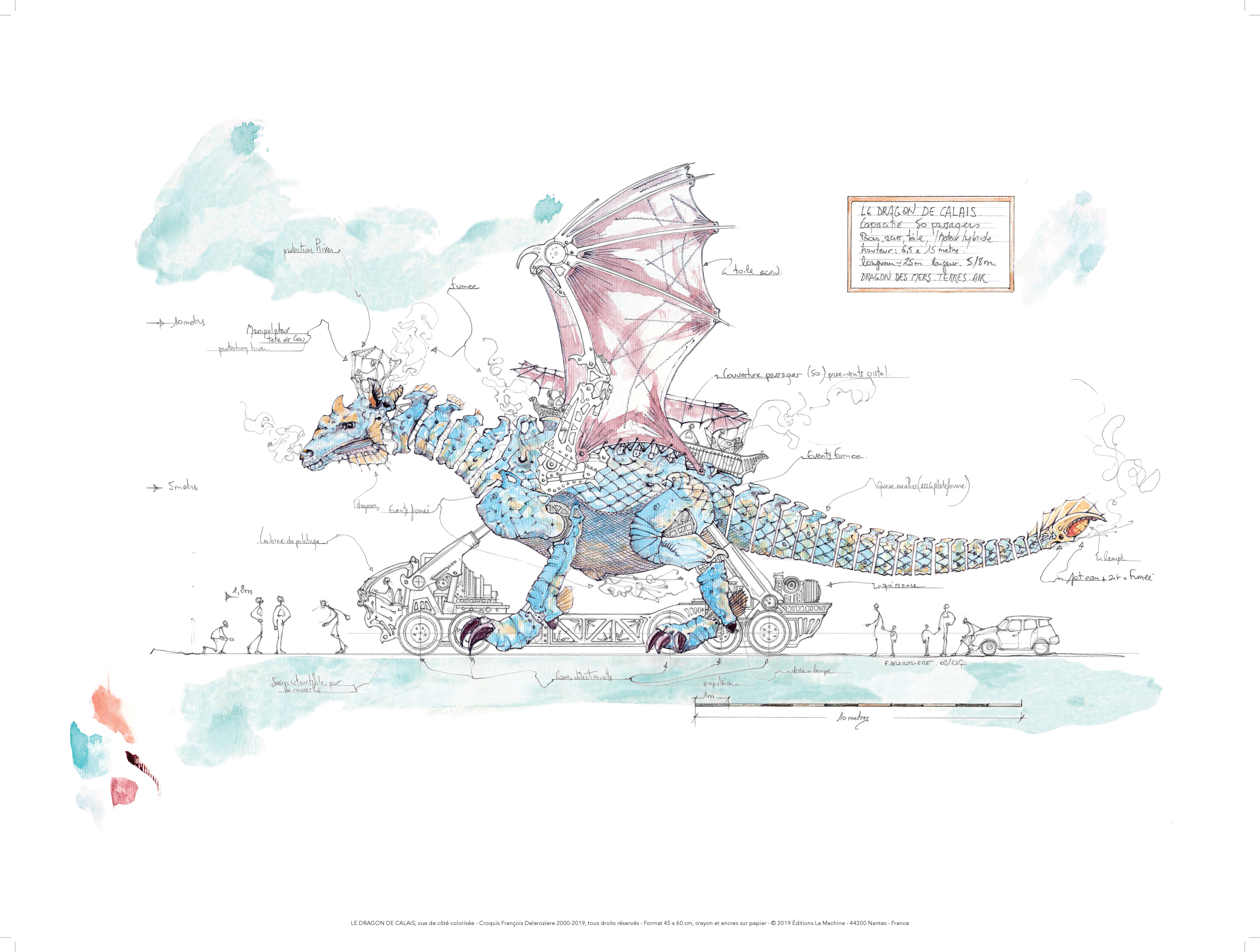 Le Dragon de Calais (c) Delaroziere